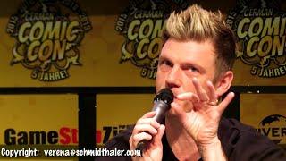 Nick Carter - Full Q&A Panel (close-up) - German Comic Con Dortmund (7/12/2019)