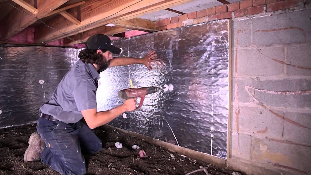 Solving crawl space mold problems in michigan crawl space solving crawl space mold problems in michigan crawl space encapsulation on the handyman show youtube solutioingenieria Choice Image