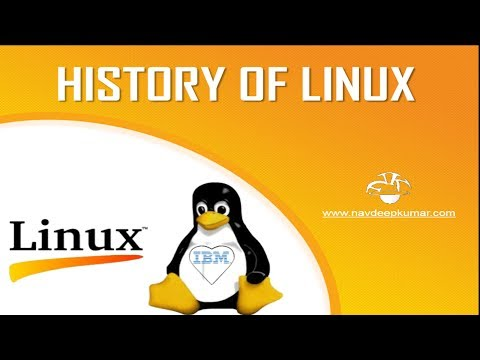 History of Linux Operating System
