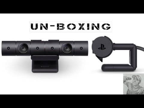 New PS4 VR Camera UNBOXING!!!