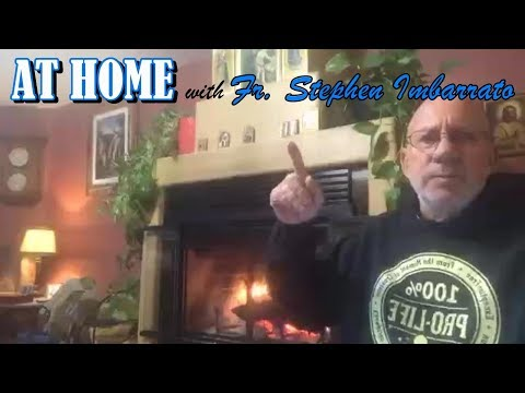 AT HOME With THE PROTEST PRIEST Fr. Stephen Imbarrato- Patron Saint Feast Day! - Thu, Dec. 26, 2019
