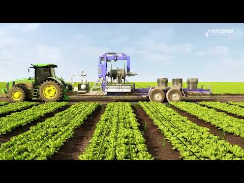Work less and grow more with Netafim's revolutionary single-use drip irrigation solution