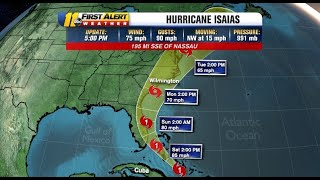 Latest Hurricane Isaias Track: State Of Emergency Issued, Storm Expected To Weaken To Tropical Storm