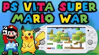 PS Vita Install SuperMarioWar Homebrew Game!