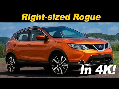 2017 Nissan Rogue Sport Qashqai First Drive Review in 4K UHD