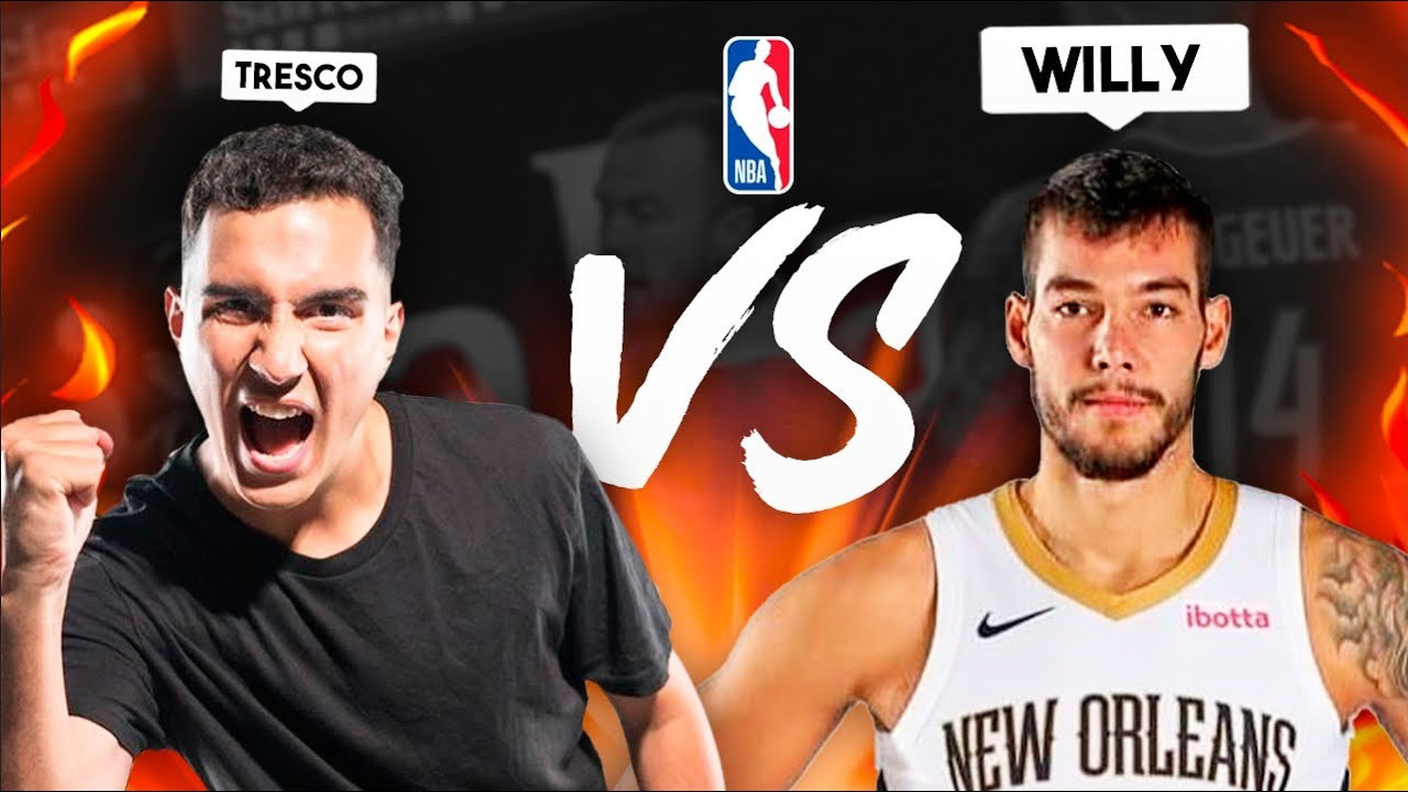 Willy Hernangomez (JUGADOR NBA) vs TRESCO *¿Quien ganará?*