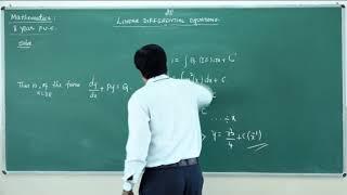 II PUC   Mathematics  Differential equations-05