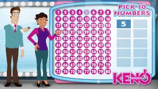 Learn how to play Michigan Lottery's Keno! Drawings are every day a...