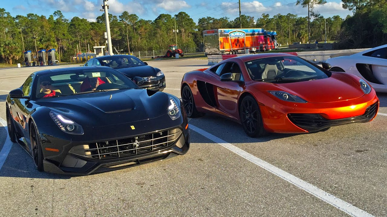 Ferrari f12 1 4 mile