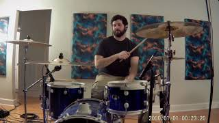 """Drum Cover of """"Tennessee Whiskey"""" by Chris Stapleton"""
