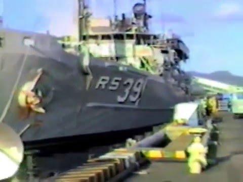 USS Conserver Westpac 1985