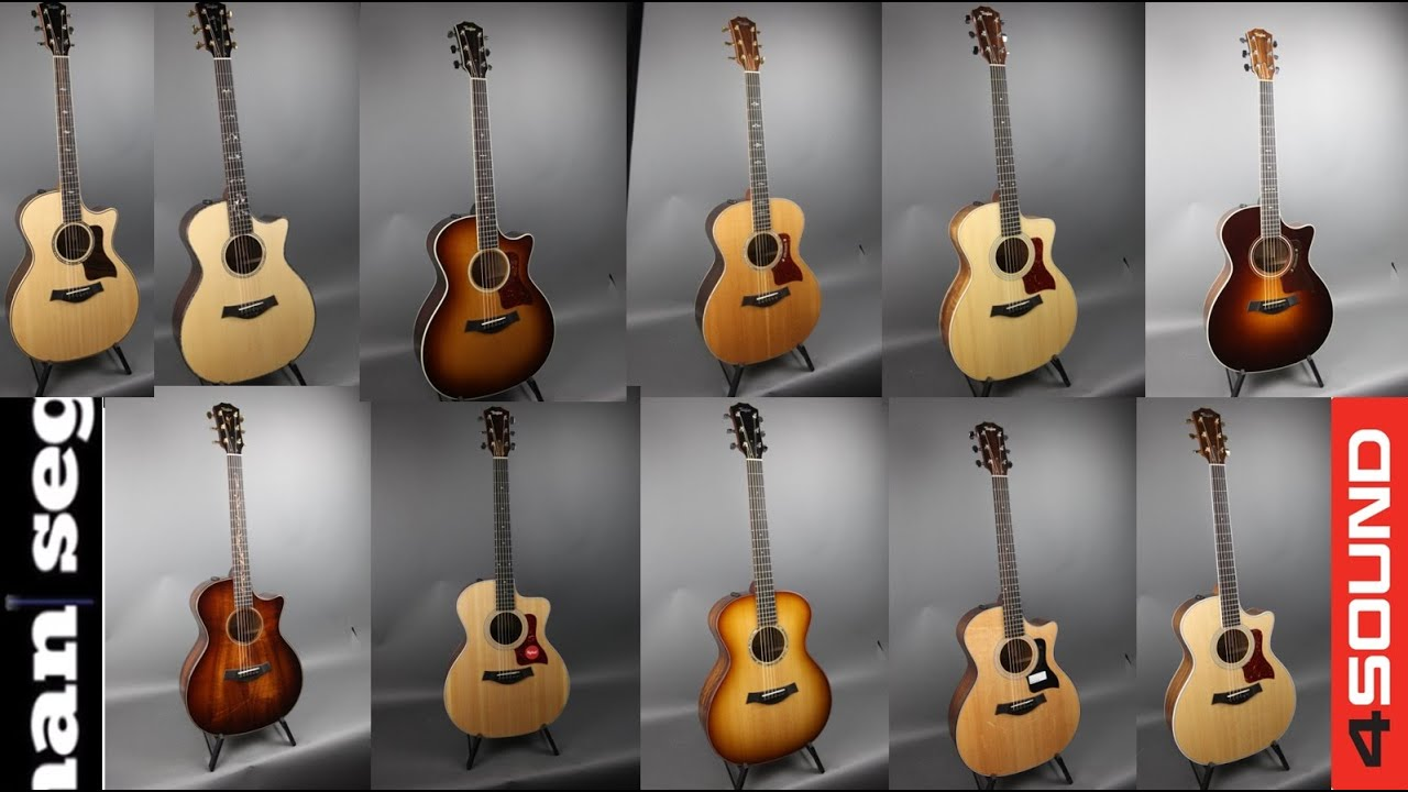 11 Taylor Guitars Comparison 914 Vs 814 714 514 And Many More