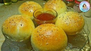 Chicken Stuffed Bun | Chicken Buns | Tasty Stuffed Bun