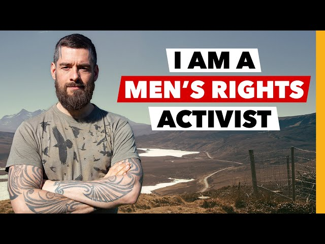 Ex porn-star and activist explores men's rights issues | BBC Stories