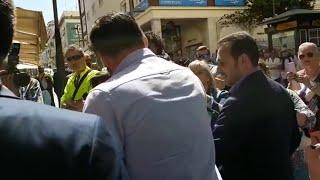 El lider de Vox Santiago Abascal, en Ceuta