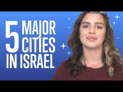5 Major Cities In Israel