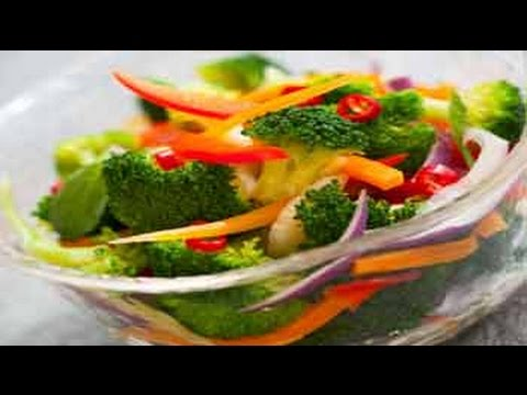 Roasted Bell Pepper And Broccoli Salad