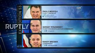 Video LIVE: Expedition 52/53 crew returns from ISS: landing download MP3, 3GP, MP4, WEBM, AVI, FLV Agustus 2018
