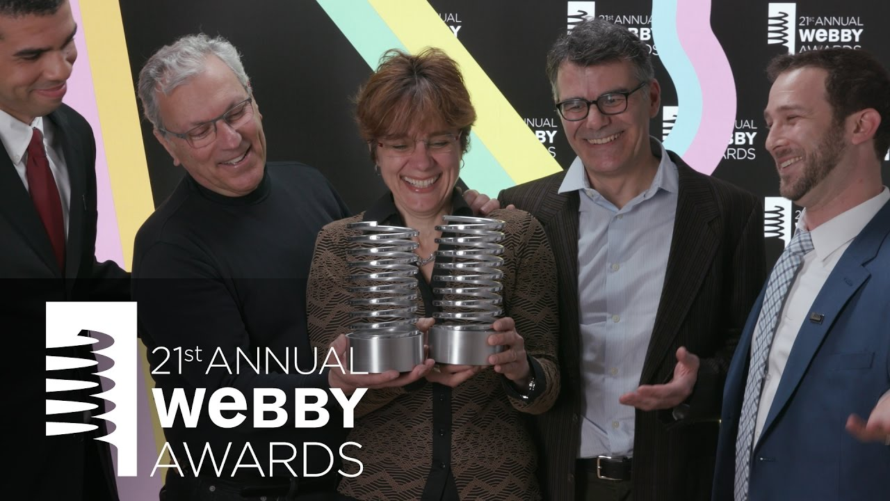 Wyss Institute for Biologically Inspired Engineering's 5-Word Speech at the 21st Annual Webby Awards