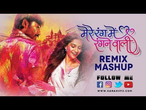 Mere Rang Main - Mashup - Dj Mubin| Karan Vfx | Kolhapuridjs