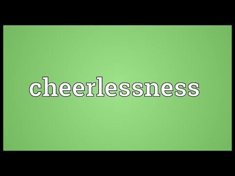 Header of cheerlessness