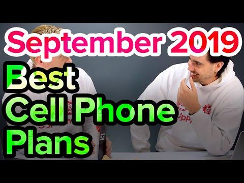 Best Cell Phone Plans [September 2019]