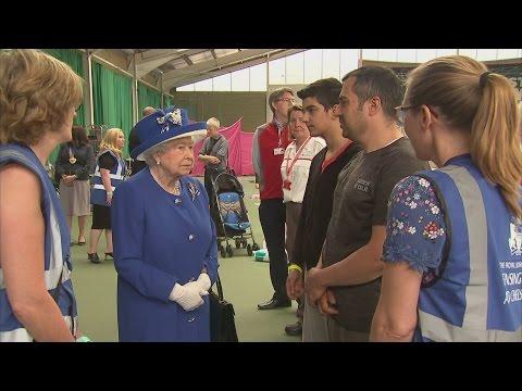 Grenfell Tower fire: Tortured screams leave Queen shaken