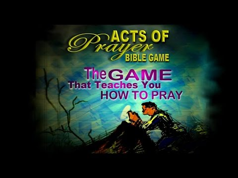 How to play acts of prayer bible game