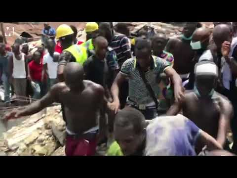 School Building Collapse In Lagos Many Feared Dead, As Major Disaster Hits Lagos