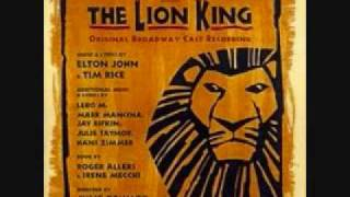 Rafiki Mourns-The Lion King Broadway(lyrics)