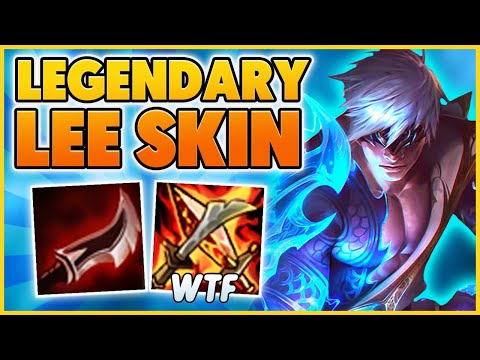 The HARDEST Play You Can Make On LEE SIN (NEW Legendary Skin) - BunnyFuFuu   League of Legends