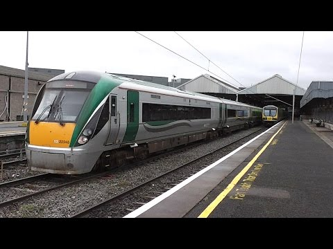 IE 22000 Class Intercity Train number 22345 - Connolly Station, Dublin