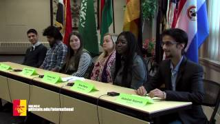 Student Panel: International Student Life in Pittsburg (international education week)