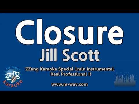 Jill Scott-Closure (1 Minute Instrumental) [ZZang KARAOKE]