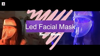 Led Facial Mask Honest Review || Is it worth it? || Filipina Vlogger in Korea