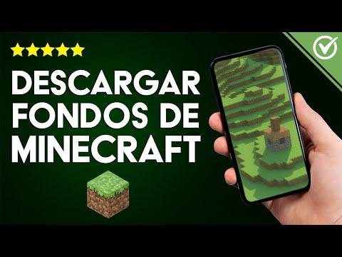 Cómo Descargar Fondos de Pantalla / Imágenes de Minecraft