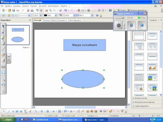 Mappa con Open Office