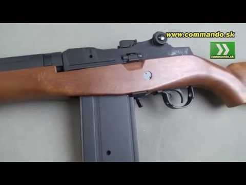 Airsoft SLV M14 Wood AEG 6mm