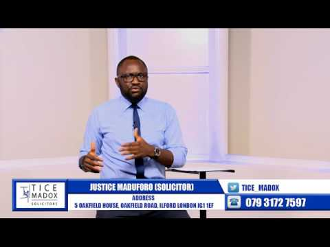 Tice Madox Solicitors -Immigration: BREXIT Implications by Justice Maduforo (Solicitor)