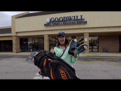 We Bought MIZUNO IRONS And ASHLEY'S NEW DRIVER At THRIFT STORES!!