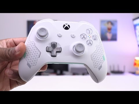 THIS IS SO CLEAN! [Sport White Xbox Controller]