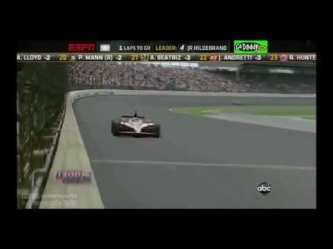 Indianapolis 500  2011  Final Lap  JR. Hildebrand Crash  Dan Wheldon Win