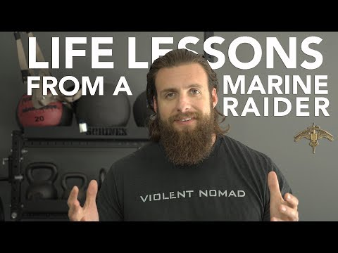 LIFE LESSONS FROM A MARINE RAIDER