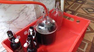 Как я делаю домашнее вино из винограда Изабелла.