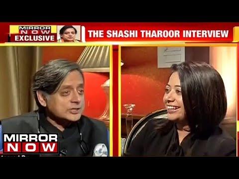 Faye D'souza Speaks To Shashi Tharoor | Exclusive Interview