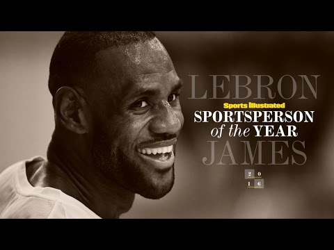 LeBron James Honored At Sportsperson Of The Year 2016 | SPOTY 2016 | Sports Illustrated