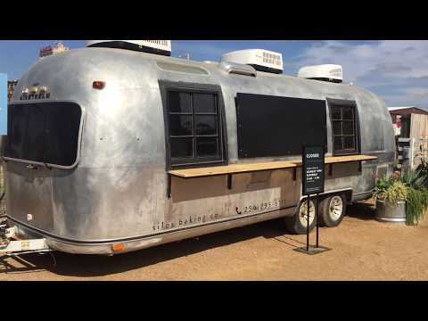 Airstream Overlander Food Trailer 360 Degrees Walk Around Magnolia