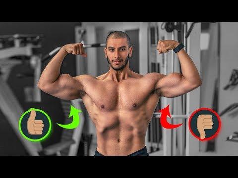 ASYMÉTRIE musculaire CAUSES ET SOLUTIONS