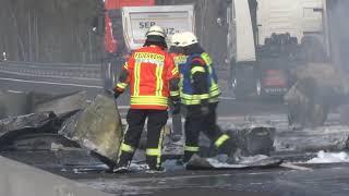 Tödlicher Unfall auf A6 bei Sinsheim: Augenzeugen berichten Schockierendes