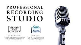 Professional Recording Studio Commercial - 808 Asylum